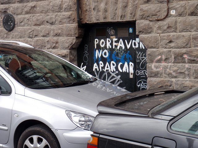 Por favor, no aparcar