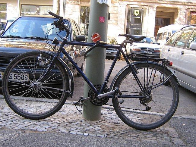 bicicleta por sporras