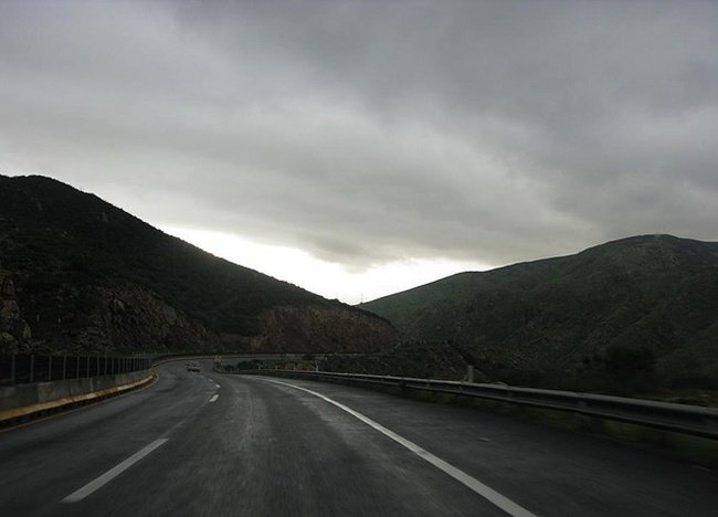 carretera de noche de fcastellanos