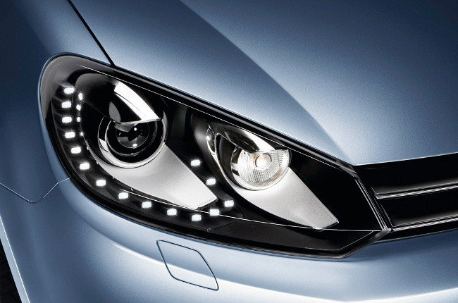 Luces led del Volkswagen Golf