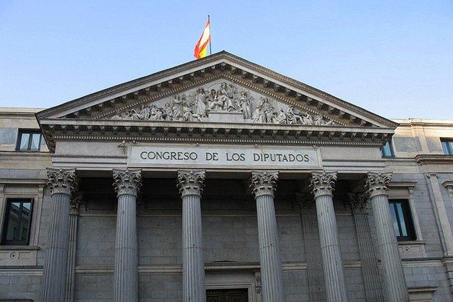 El Palacio del Congreso de los Diputados por Por hyperion327