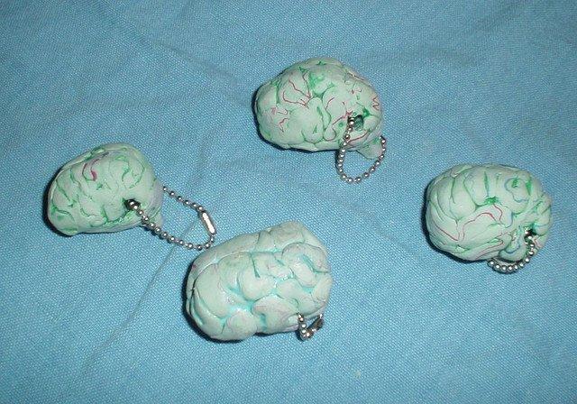 Llaveros cerebrales