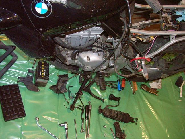 Repair Motorbike