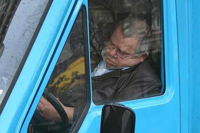 Conductor dormido