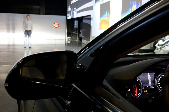 Sistema de iluminación Matrix Beam, de Audi