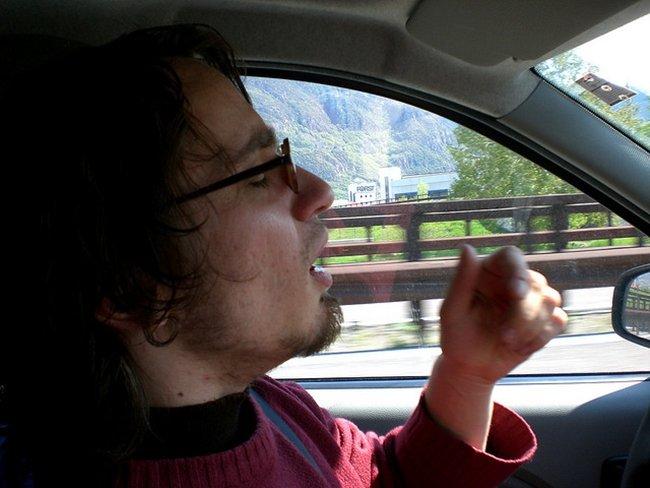 Driving to Italy #1 por peterholy