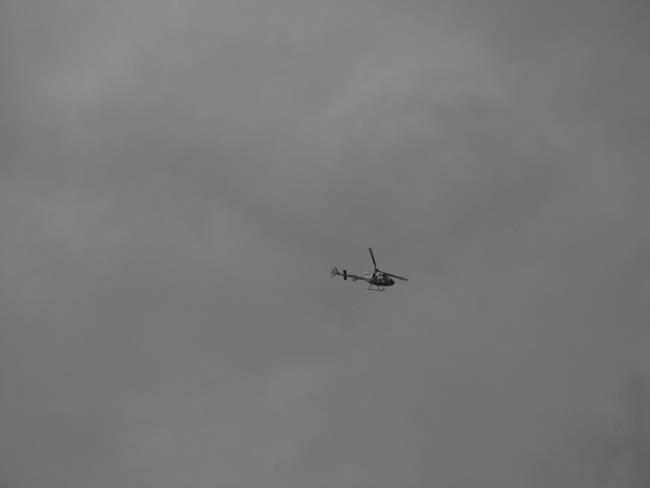 Helicoptero vigilancia