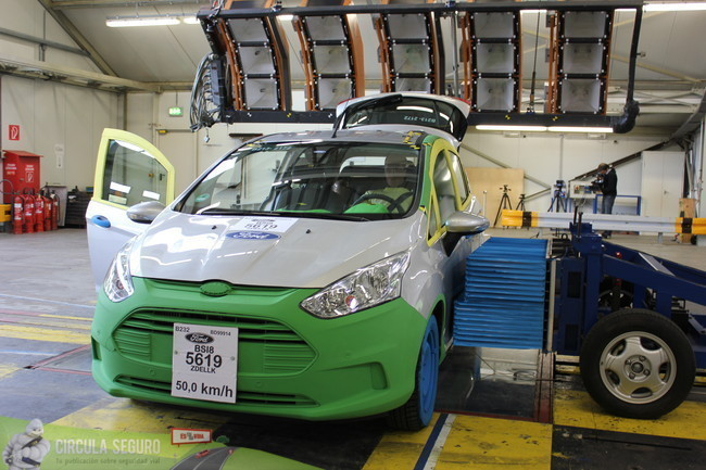 Crash Test del Ford B-Max