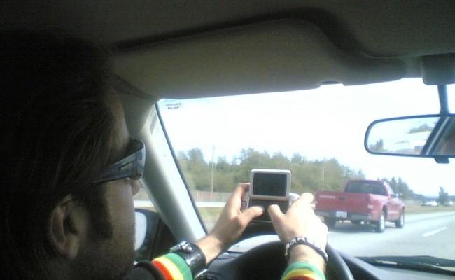 Distracciones en el coche