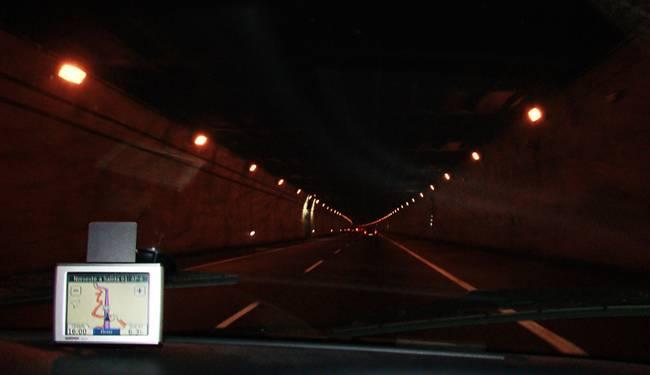 Túnel Guadarrama A6