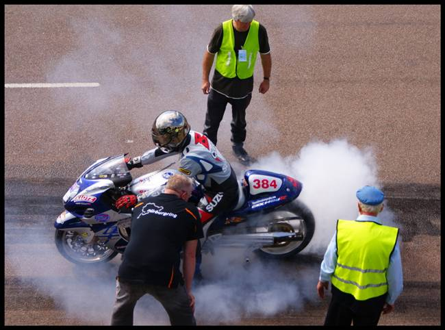 Motorbike Burn