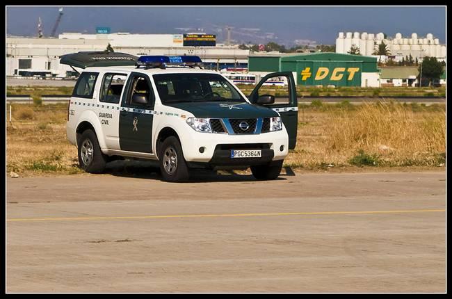 Vehículo Guardia Civil