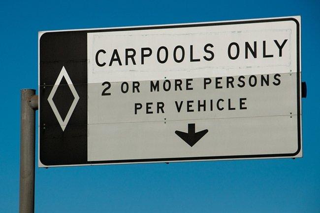 Carpools only por lady madonna