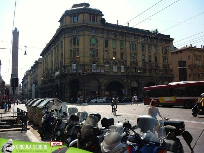 Tráfico en Bologna