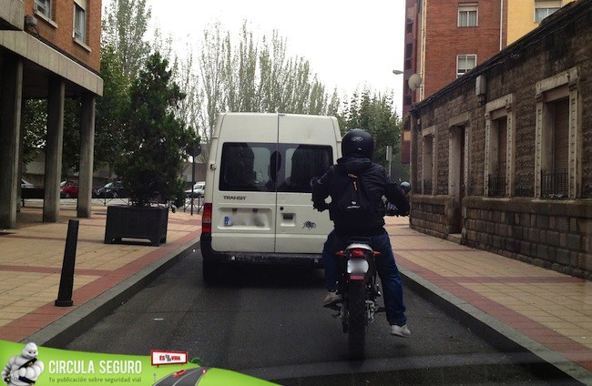 Ciudad en moto