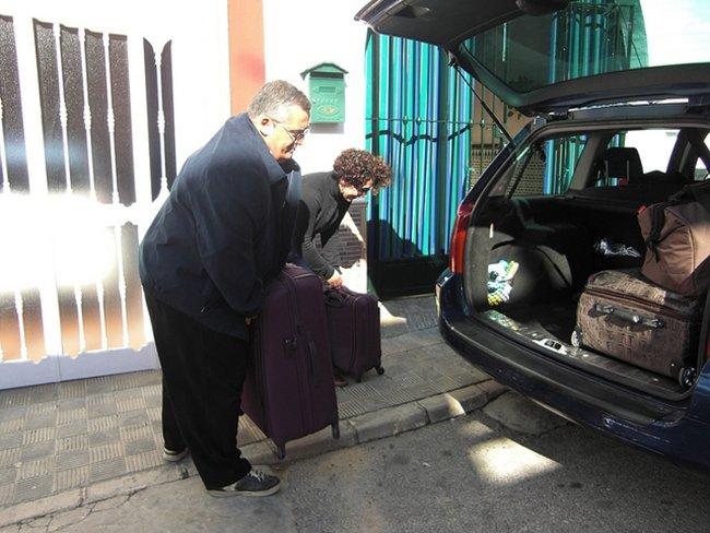 subiendo equipaje por josealoly