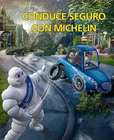 Conduce seguro con Michelin