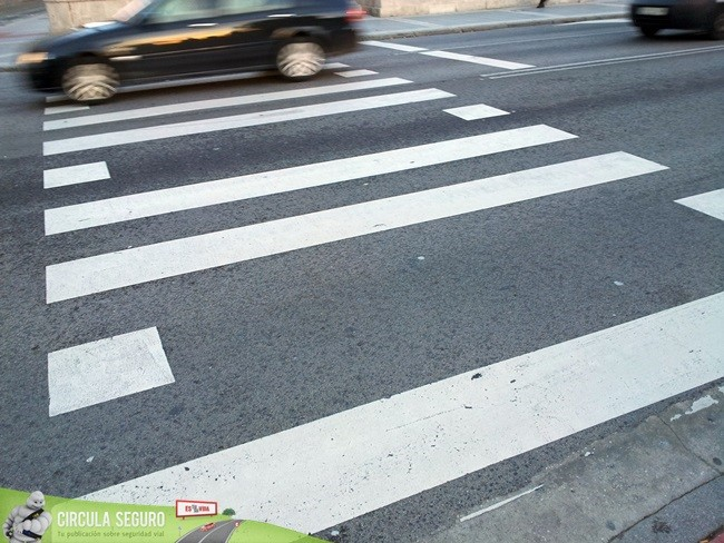 Paso de peatones Burgos