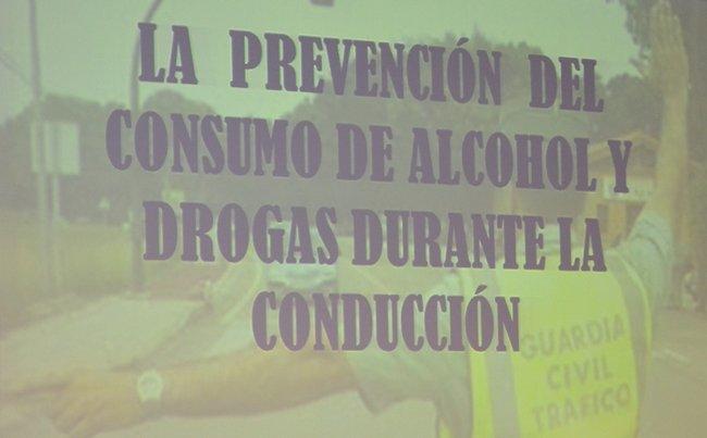 diapositiva durante la charla