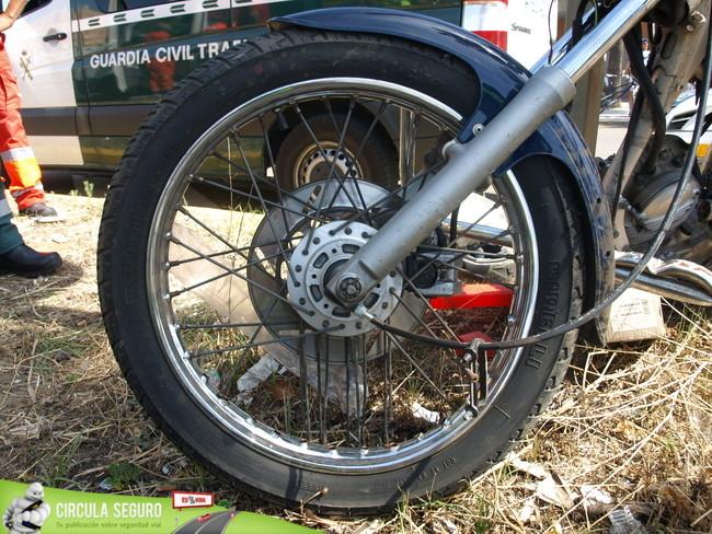 Caída de moto