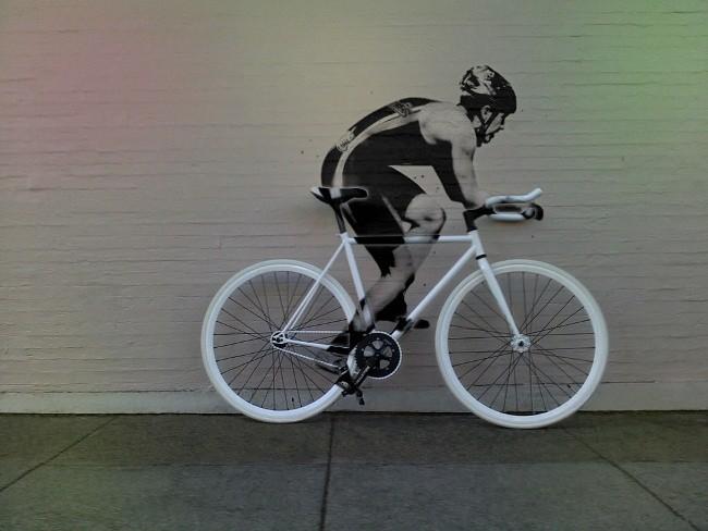 Ciclista estático