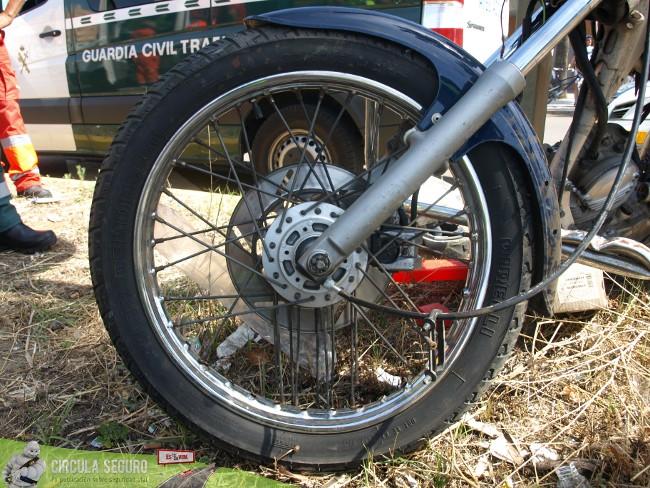 Siniestralidad de las motos en España