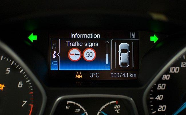 Sistema de detección de señales de Ford