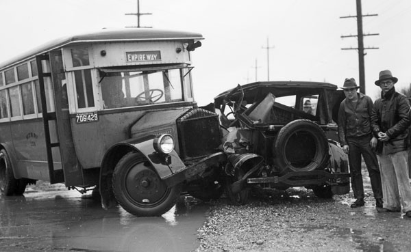 Accidente vintage