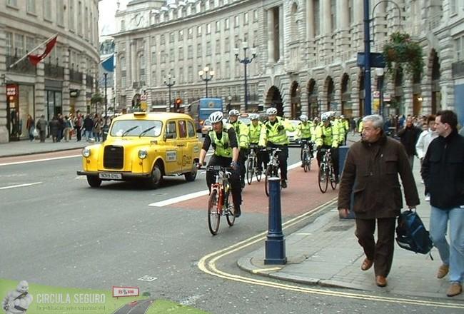 Circulación por la izquerda en Londres