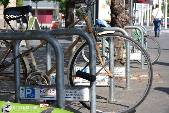parking bicis y membrete