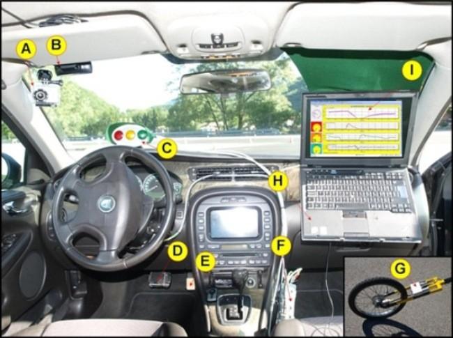 Adquisición de datos en conducción real