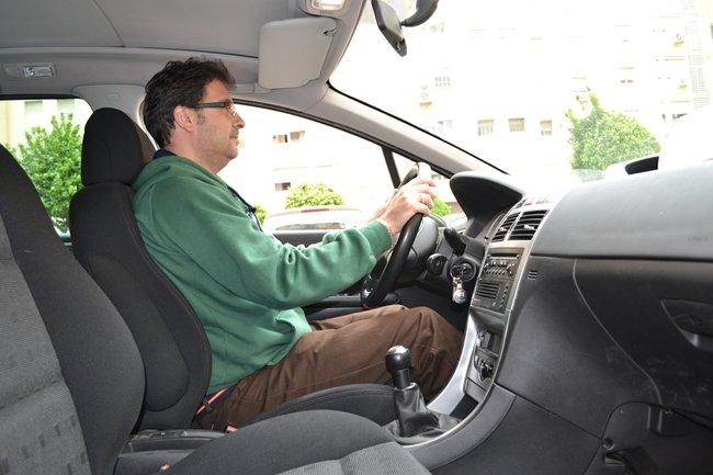 postura al volante
