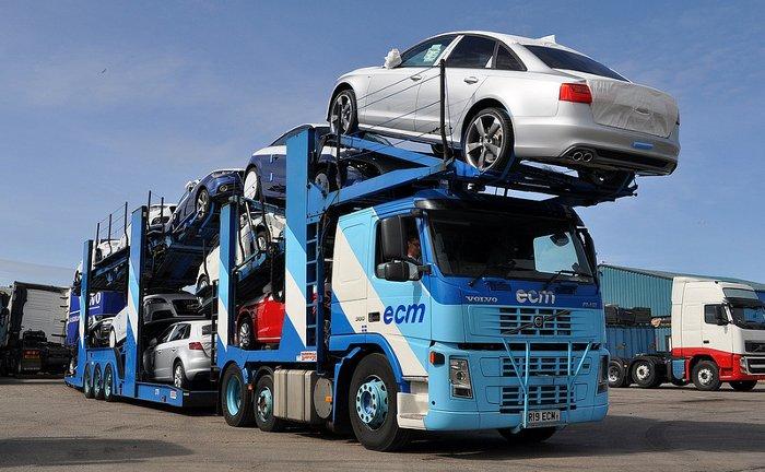 Convoy coches nuevos