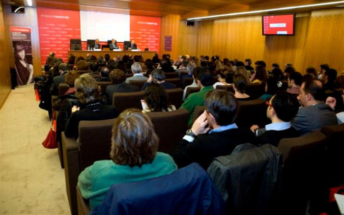Foto de archivo. Seminario PRAISE en Lisboa. norma ISO 39001