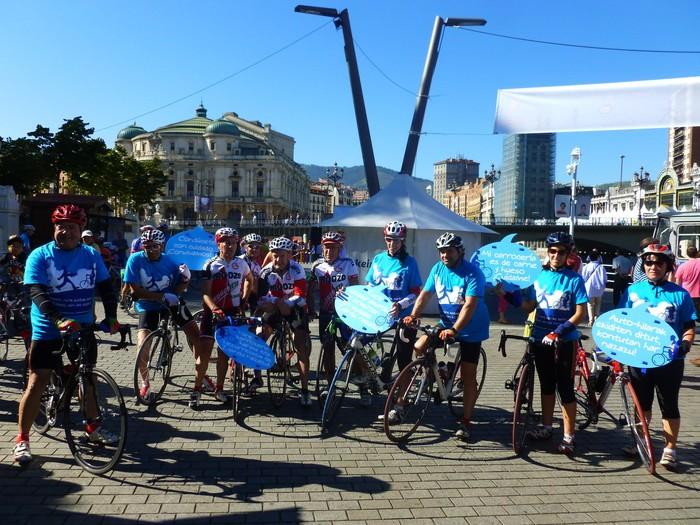 Brigadas ciclistas de concienciación - Amaia Garate