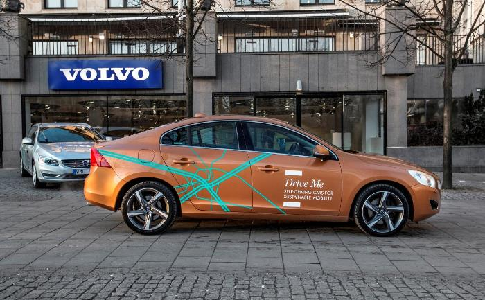 Drive Me - Volvo - conducción autónoma