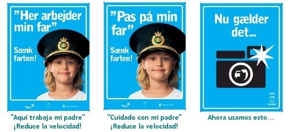 Seguridad Vial en Dinamarca - Campañas de concienciación