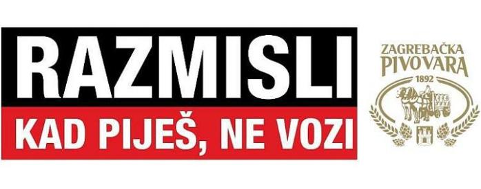 Seguridad Vial en Croacia - Razmisli: kad piješ ne vozi
