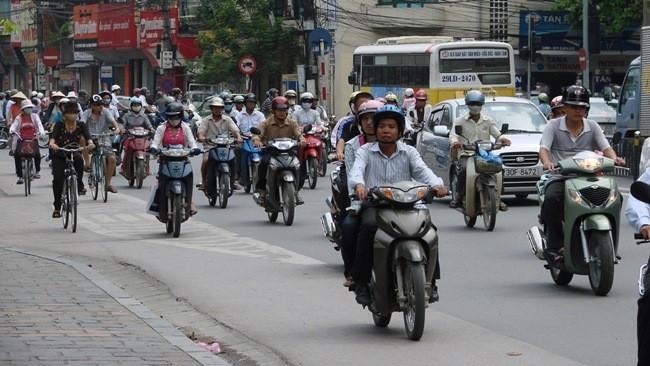 Prohibir motos Vietnam