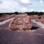 La piedra de la cabecera