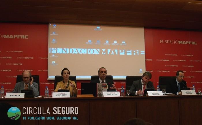 Jornada Reducción Siniestralidad Vial Fundación Mapfre 24 MArzo 2014 Madrid
