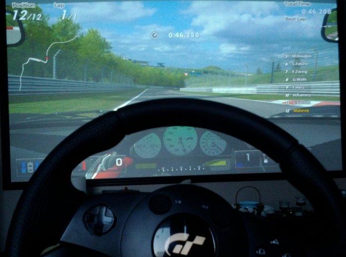 Conducción de videojuego