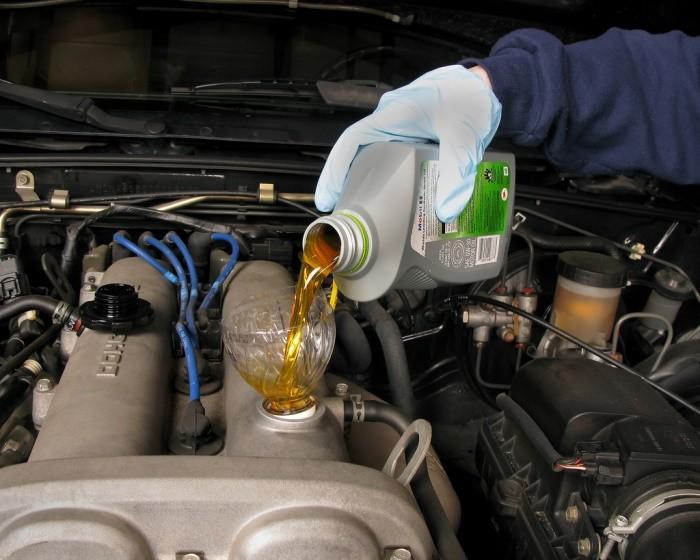 Aceite del motor