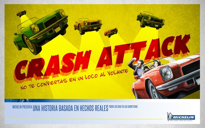 Plan Joven de Seguridad Vial Crash Attack de Michelin