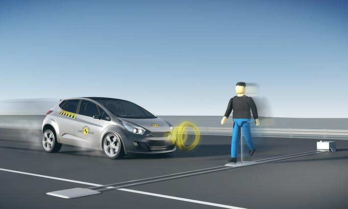 Euro NCAP analizará los sistemas de detección de peatones con frenada de emergencia.