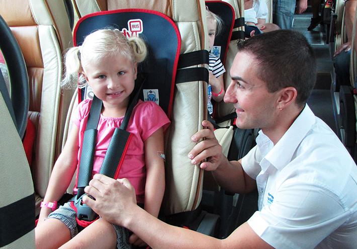 Kidy Bus Harness, la primera silla infantil para autobús