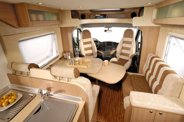 autocaravan interior