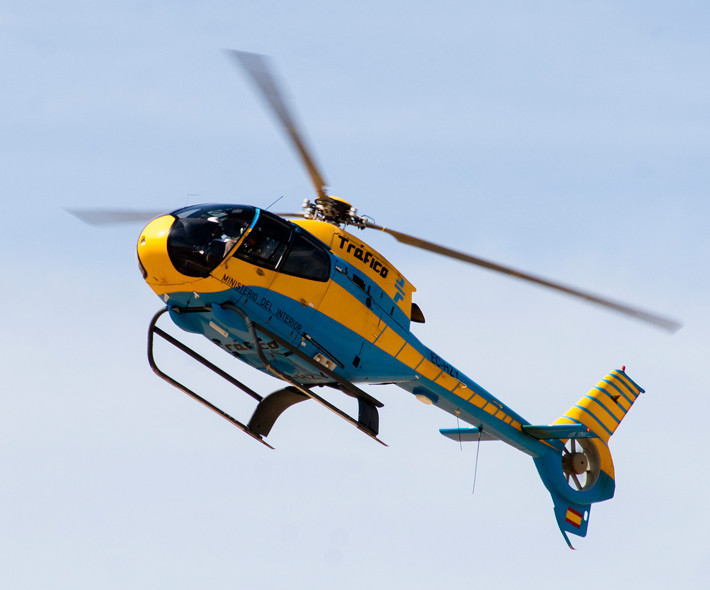 Helicóptero Pegasus de la DGT