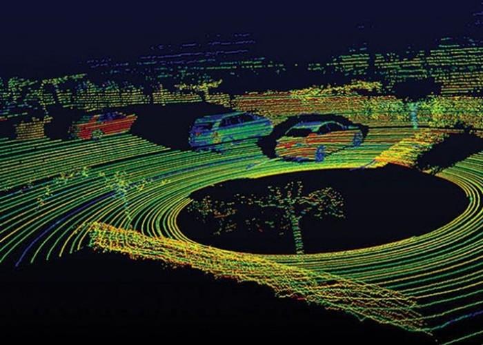 Vision radar LIDAR