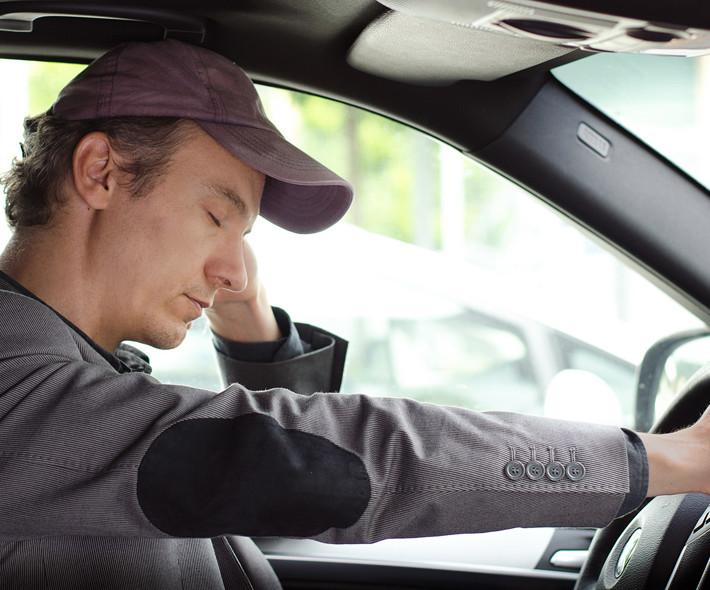 Somonolencia al volante